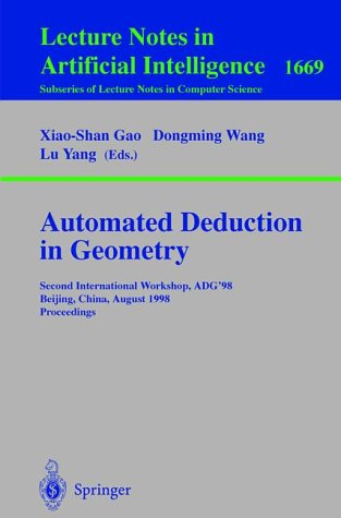 Automated Deduction in Geometry 1998
