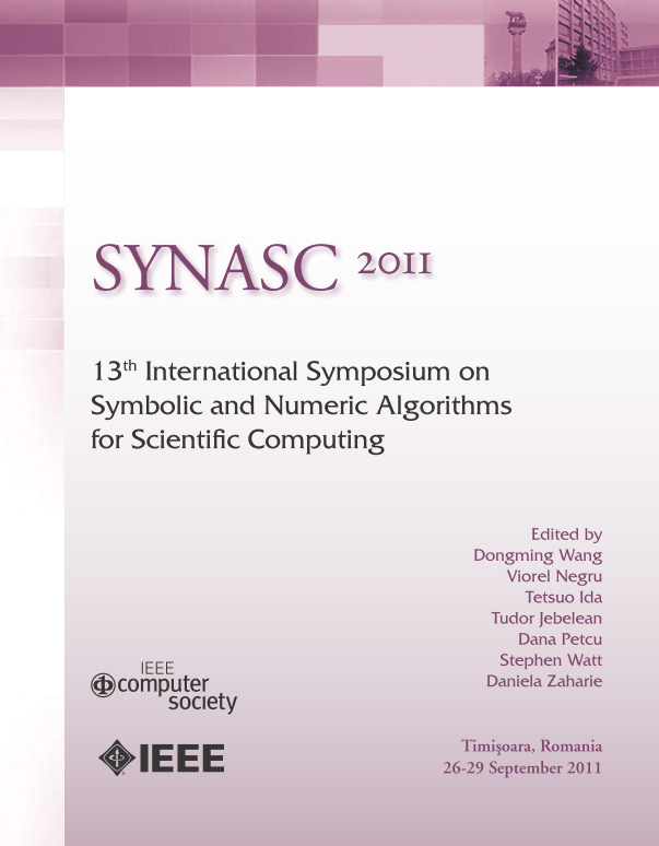 Symbolic and Numeric Algorithms for Scientific Computing